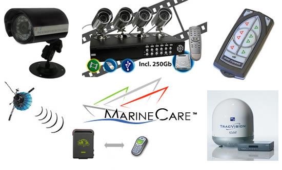MarineCare er specialister i alle former for elektriske installationer. F.eks. videoovervågning, navigationssystemer, fjernbetjent bovpropel, GPS-overvågning, undervandslys, belyste navneskilte m.m..
